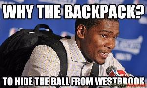 Kevin Durant ball hog